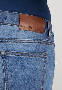 ATTESA - STRAIGHT - Jeans a sigaretta - blue - 3