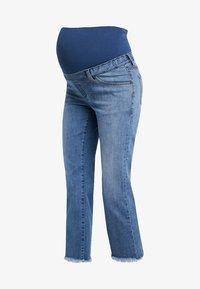 ATTESA - STRAIGHT - Jeans a sigaretta - blue - 4