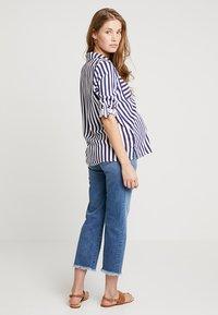 ATTESA - STRAIGHT - Jeans a sigaretta - blue - 2