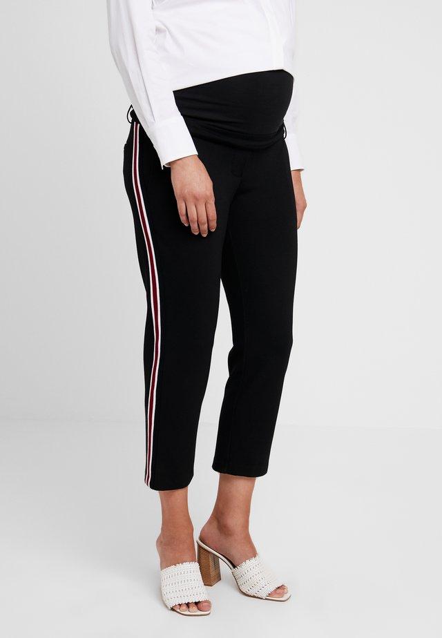 PANT MILANO BANDA - Pantalon classique - black