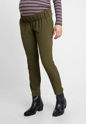PANT MORBIDO V-BASSA - Kalhoty - khaki