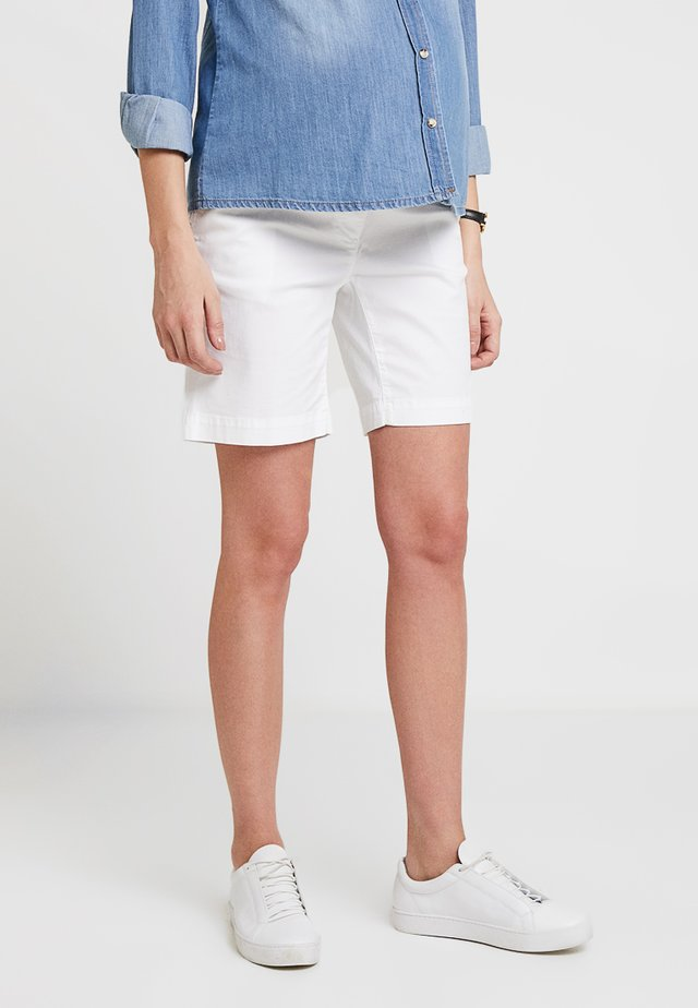 PANT BERMUDA - Szorty - white
