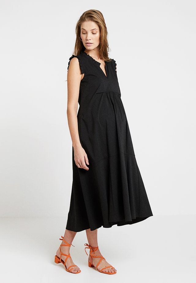 ROUCHES - Day dress - black