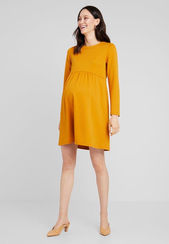 GIRELLI  LAMPO - Jersey dress - mustard