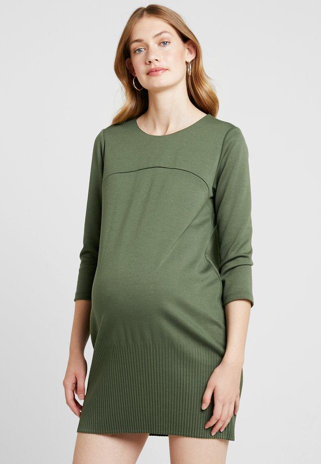 KRISTAL FONDO ALL - Jersey dress - green