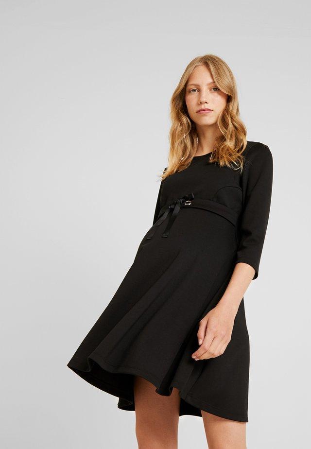 SVASATO MANICA - Jersey dress - black