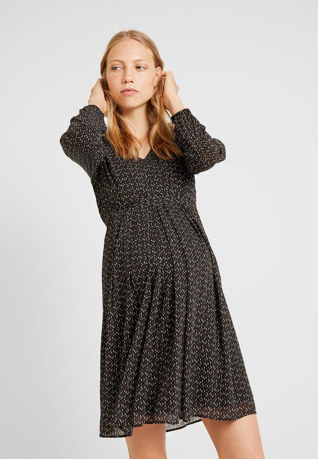 AB PIEGA ALLATT - Day dress - black