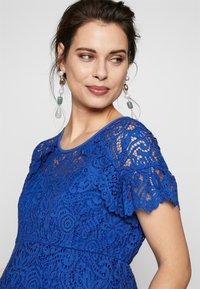 ATTESA - PIZZO - Sukienka letnia - royal blue - 3