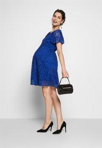 ATTESA - PIZZO - Sukienka letnia - royal blue - 1