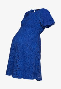 ATTESA - PIZZO - Sukienka letnia - royal blue - 4