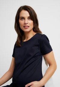 ATTESA - Jersey dress - navy - 4