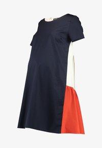 ATTESA - Jersey dress - navy - 5