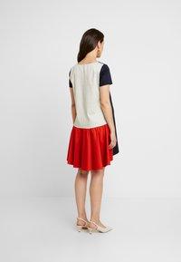 ATTESA - Jersey dress - navy - 3