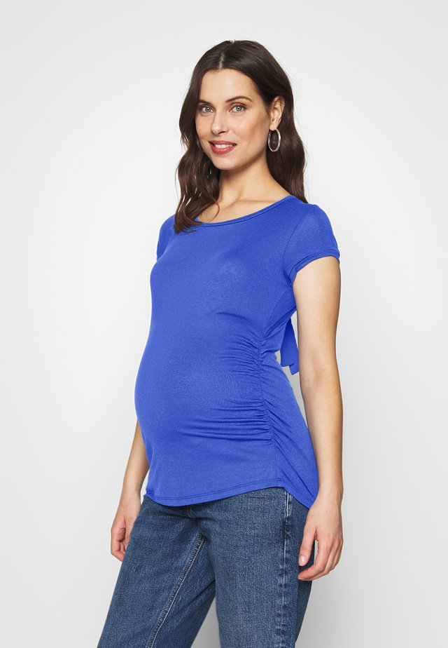 MAGLIA FIOCCO - T-shirts med print - royal blue