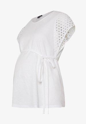 MANICHE SANGALLO - Printtipaita - white
