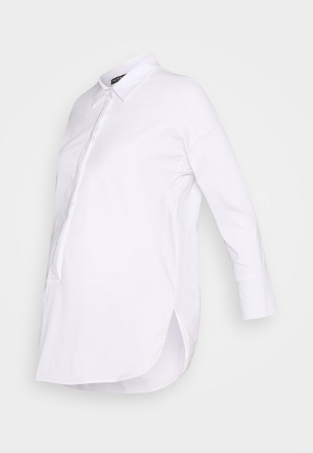 STONDATA CORTA - Button-down blouse - white