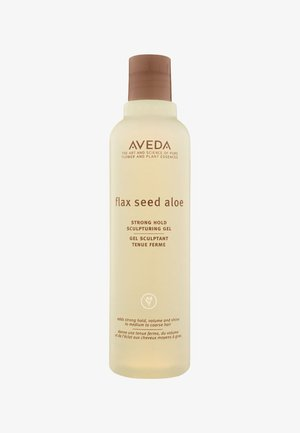 FLAX SEED ALOE STRONG HOLD SCULPTURING GEL  - Stylingproduct - -
