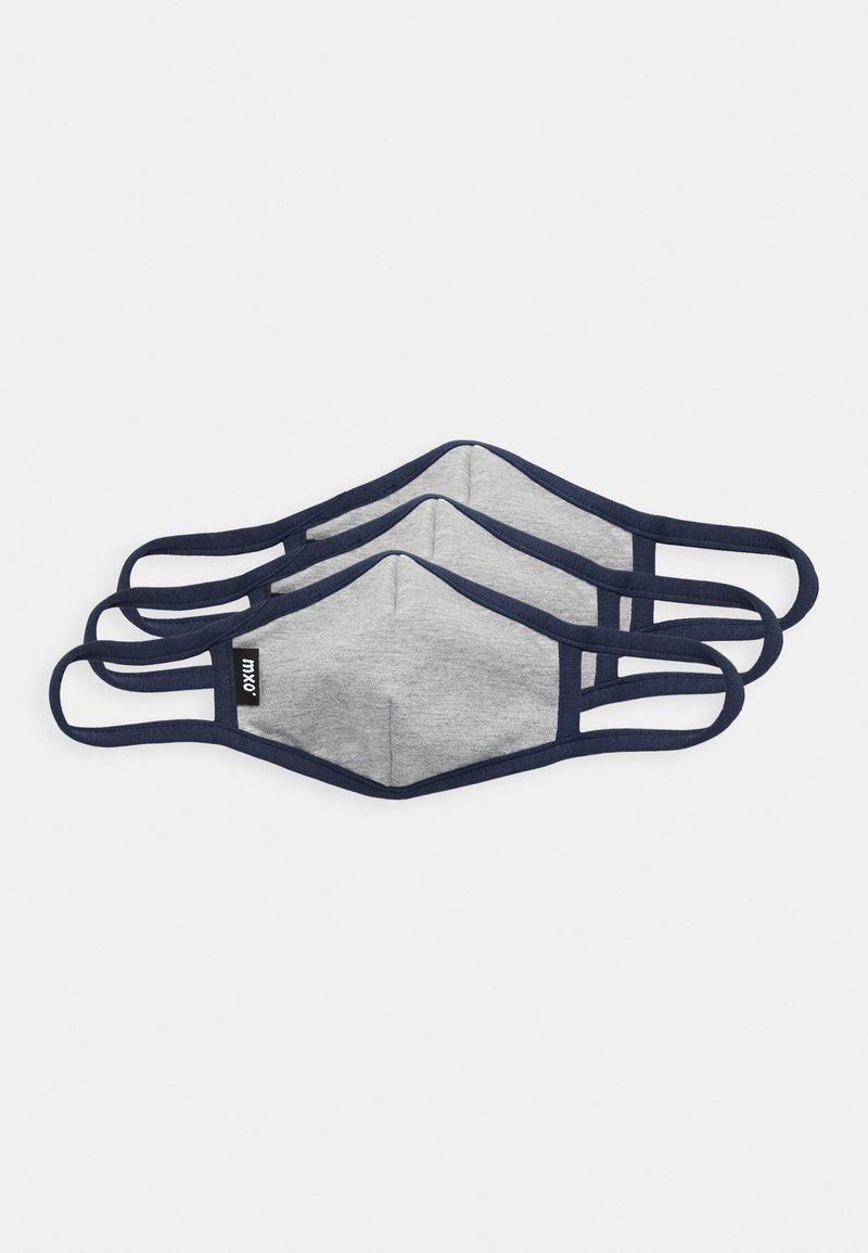 Maximo - KIDS FACEMASK 3 PACK - Community mask - grey/dark blue