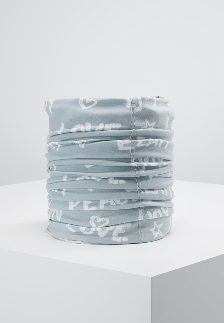 Maximo - KIDS PEACE - Schlauchschal - light grey/white