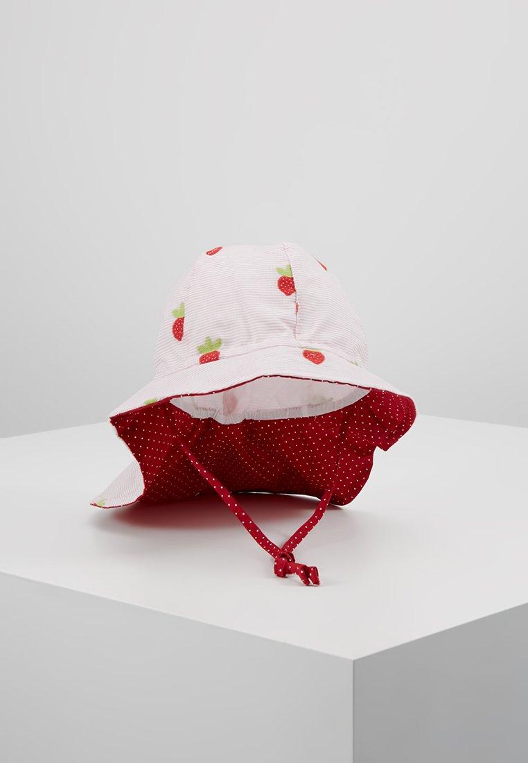 Maximo - KIDS NACKENSCHUTZ ERDBEEREN - Chapeau - rose/red