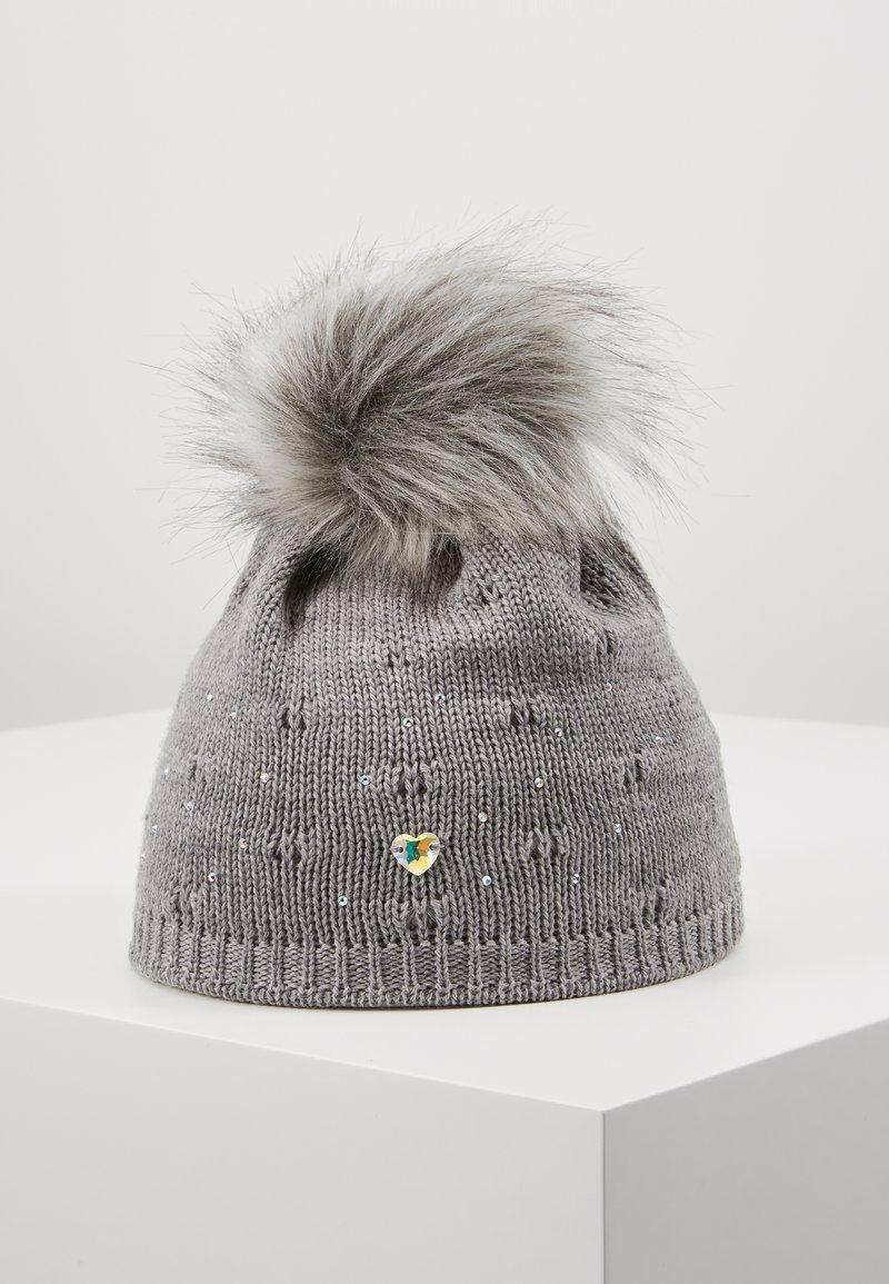 Maximo - TEENS - Mütze - grau meliert