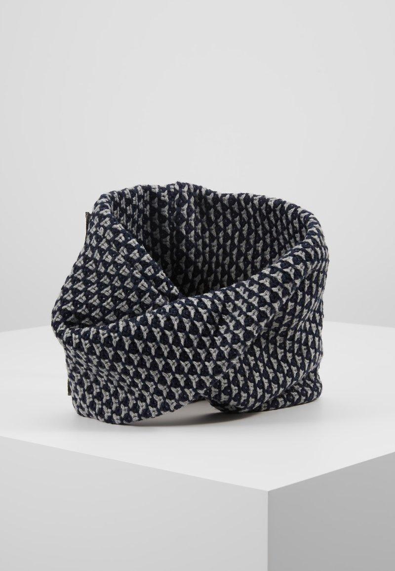 Maximo - Tubehalstørklæder - grey melange/navy