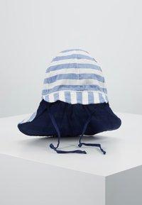 Maximo - KIDS BOY - Sombrero - blue/wollweiß - 0
