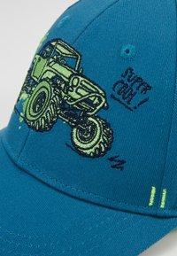 Maximo - KIDS BOY MONSTERTRUCK - Caps - jeans/frisches grün - 2