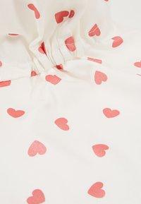 Maximo - MINI GIRL MIT NACKENSCHUTZ - Mössa - weiß/pink rose - 2