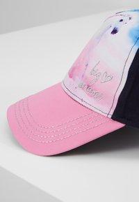 Maximo - KIDS GIRL HORSE - Czapka z daszkiem - navy/pink rose - 2
