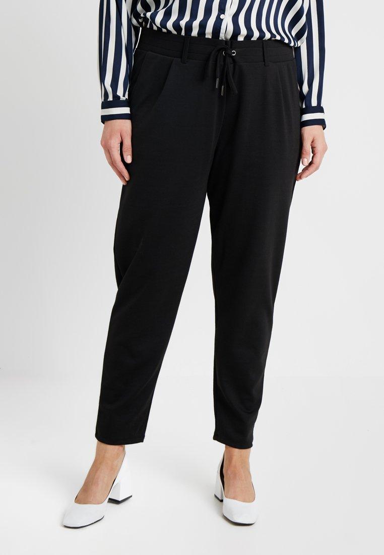 Anna Field Curvy - Trousers - black