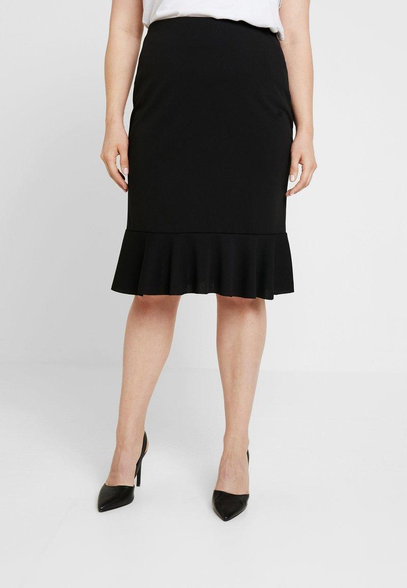 Anna Field Curvy - Blyantnederdel / pencil skirts - black