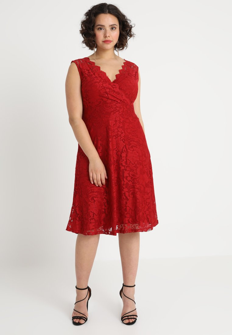 Anna Field Curvy - Day dress - chili pepper