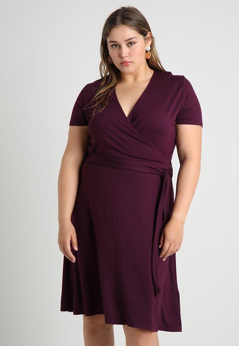 Anna Field Curvy - Jerseyklänning - purple juice
