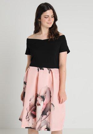 Sukienka koktajlowa - black/rose
