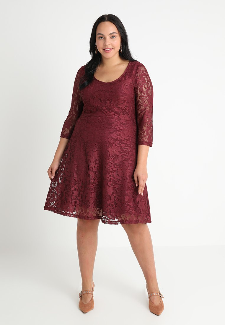Anna Field Curvy - Cocktail dress / Party dress - burgundy