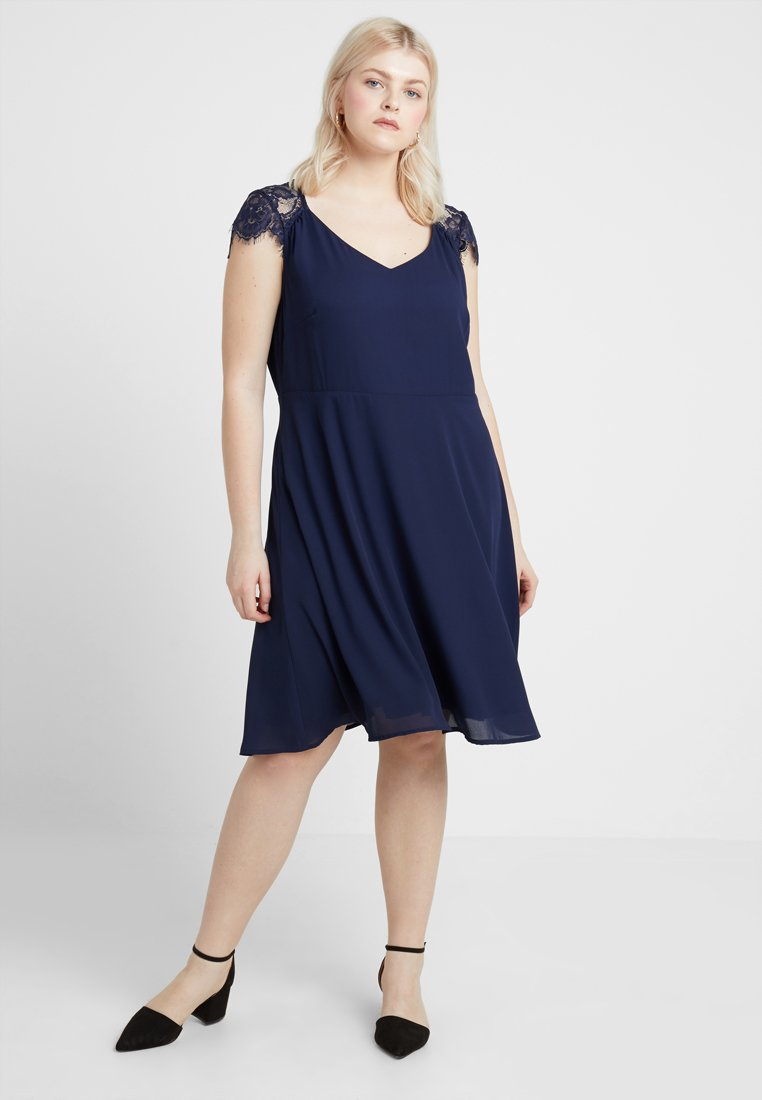 Anna Field Curvy - Cocktailkleid/festliches Kleid - maritime blue
