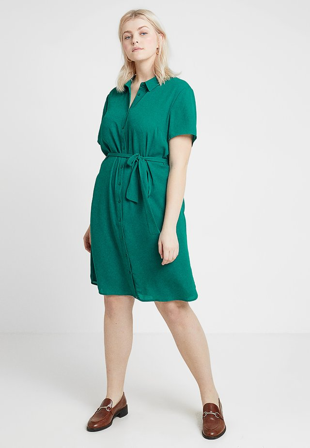 Skjortekjole - cadmium green