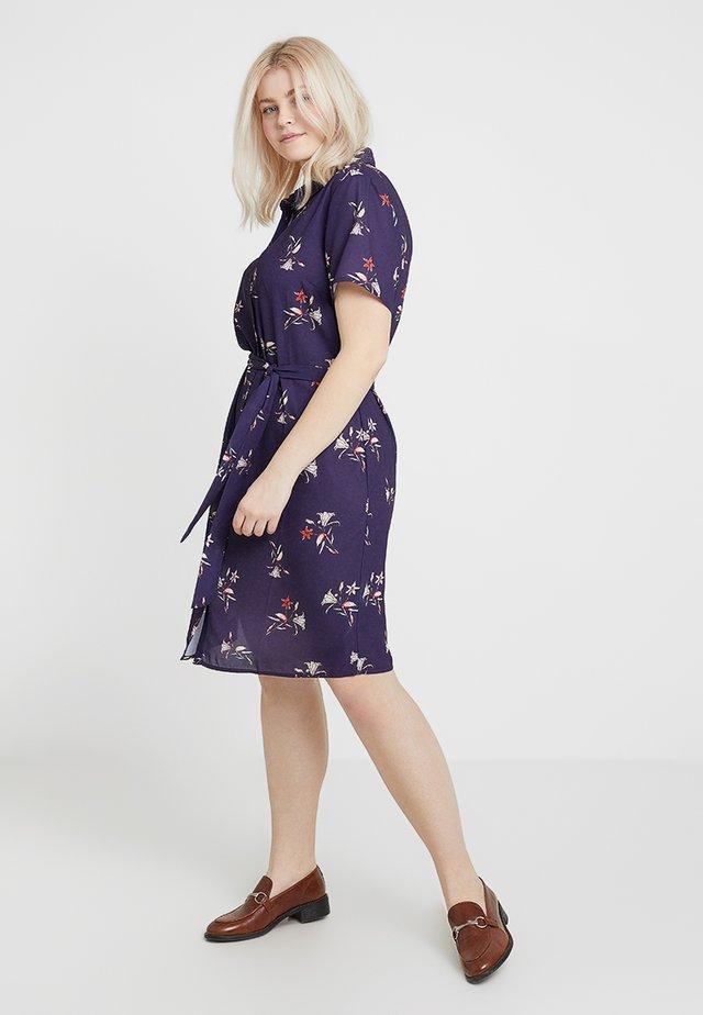 Skjortekjole - purple