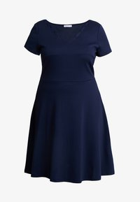 Anna Field Curvy - Vestido ligero - maritime blue - 3