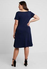 Anna Field Curvy - Vestido ligero - maritime blue - 2