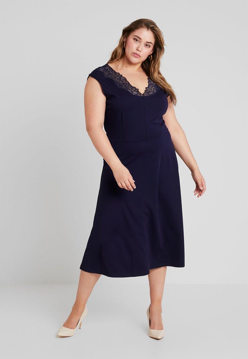 Anna Field Curvy - Sukienka z dżerseju - maritime blue