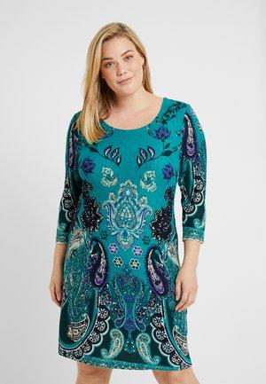 SHIFT STICHELHAAR DRESS - Jumper dress - blue/green