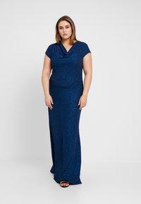 Anna Field Curvy - Maxi šaty - dark blue - 0