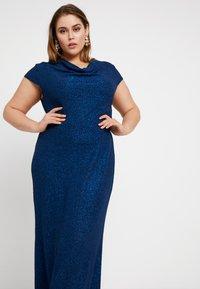 Anna Field Curvy - Maxi šaty - dark blue - 4