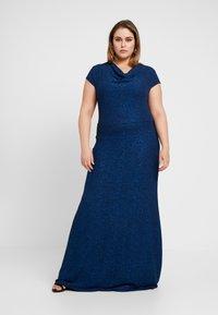 Anna Field Curvy - Maxi šaty - dark blue - 2