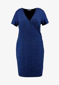 Anna Field Curvy - Etui-jurk - dark blue - 4