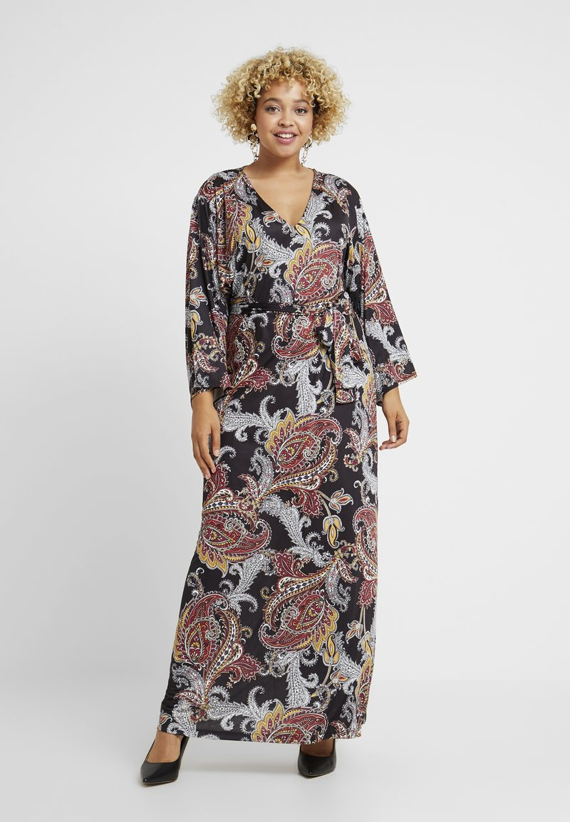 Anna Field Curvy - Jersey dress - multi-coloured