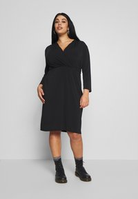 Anna Field Curvy - Jersey dress - black - 0