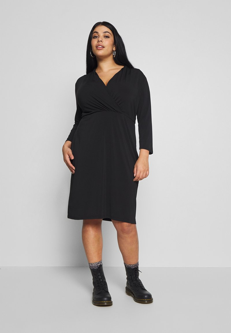 Anna Field Curvy - Jersey dress - black